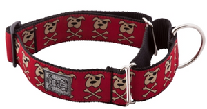 RC Pets All Webbing Training Collar - Pirate Pooch Small
