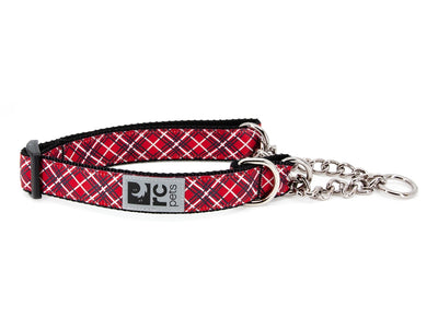 RC Pets Training Collar Red Tartan