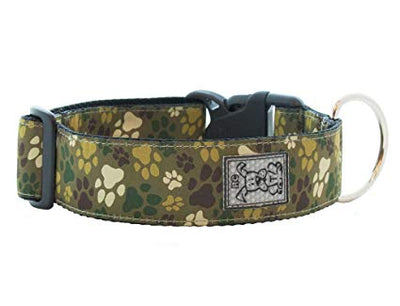 RC Pets - Wide Clip Collar - Pitter Patter Camo medium