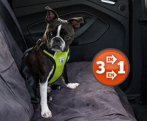Canine Friendly Vented VestHarness 2.0 with seat belt