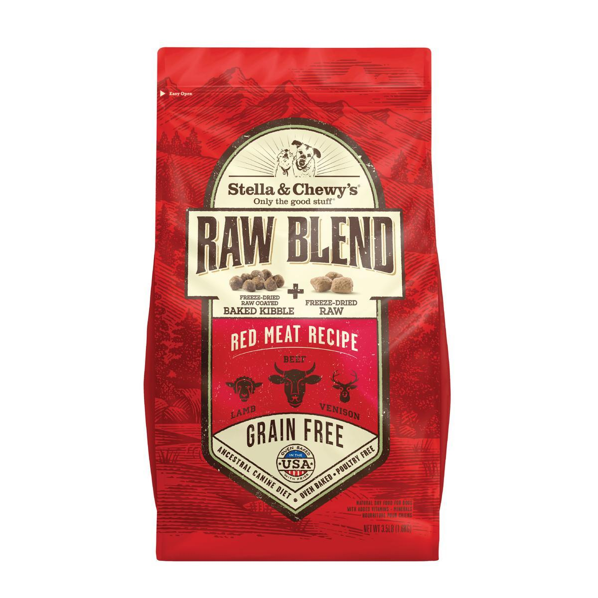 stella and chewys raw blend red meat recipe