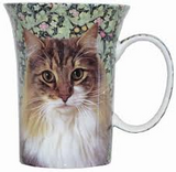 McIntosh Fine Bone China Mugs - Regal Cat