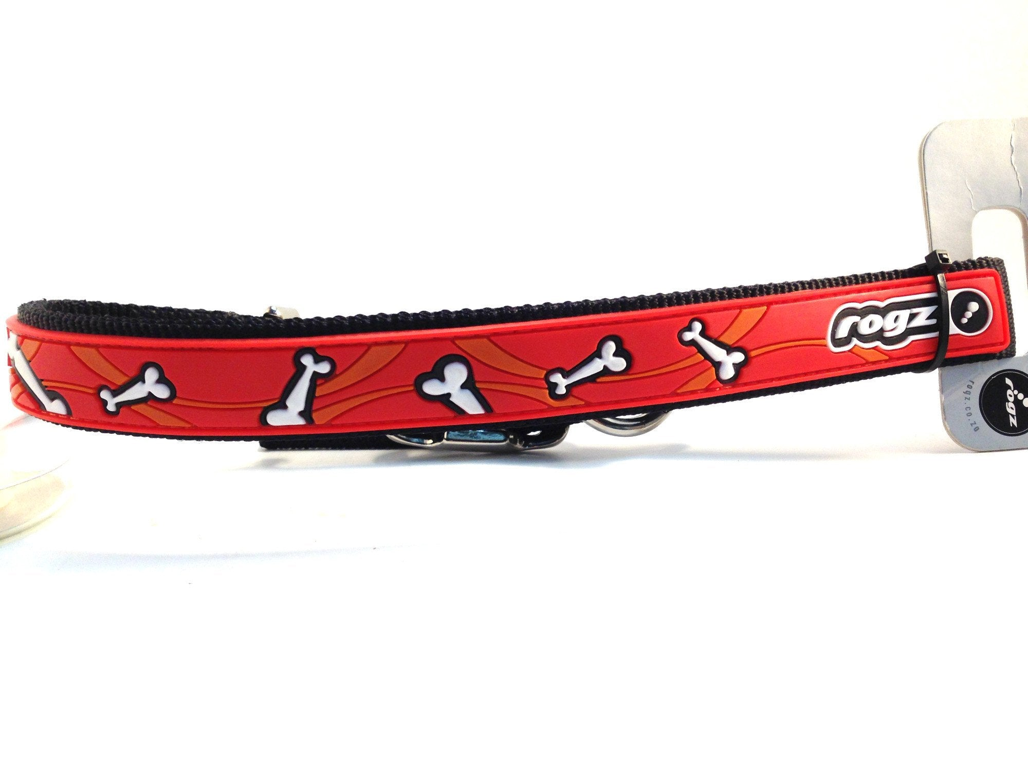Rogz - Multipurpose Lead - Bones on Red - 6' SALE