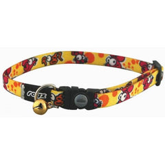 Rogz Kiddy Cat Yellow Rocco Collar