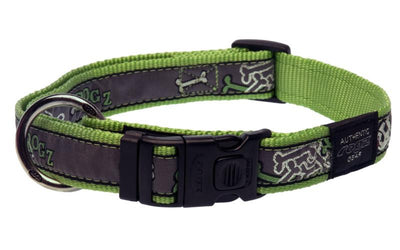 Rogz Armed Response - Lime Bone - XL
