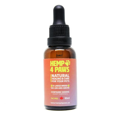 Hemp 4 Paws - X-Large Breeds 1200mg