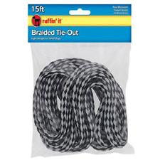 Ruffin It 15 ft Braided Tie-Out SALE