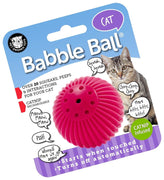 Pet Qwerks - Babble Ball w/Cat Nip