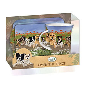 over the fence tea time gift set
