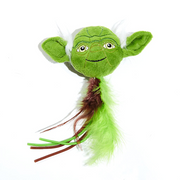 Silver Paw Star Wars Yoda Cat Toy