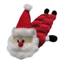 Kyjen Christmas Long Body Santa Squeaker Mat