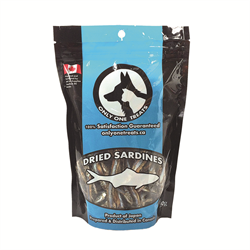 Only One Treat  Dried Sardines