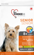 1st Choice Nutrition Dog Mature-Less Active Toy and Small Breed Senior