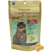NaturVet Snior Vitamins Plus Glucosomine 50 soft chews 75g