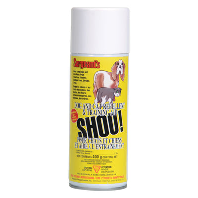 Sergeant's Shou! dog and cat repellent/training aid