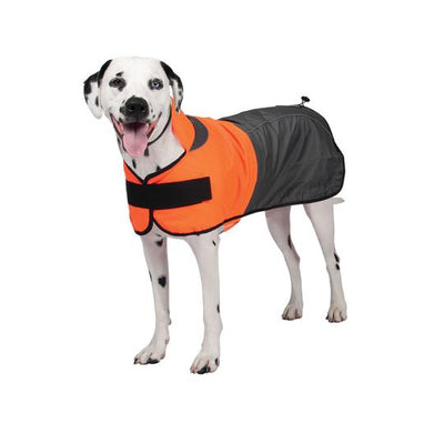 Shedrow K9 Cloudburst Rain Jacket Orange/Grey