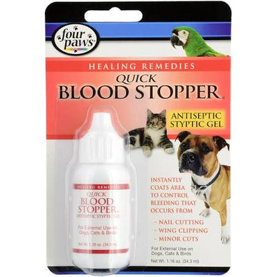 Four Paws Quick Blood Stopper Gel 1.6oz