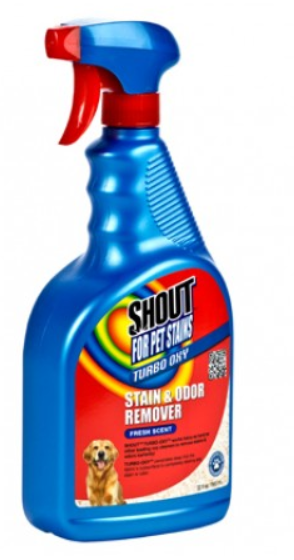 Shout Turbo Oxy Time-Release Odor Eliminator for Pet Stains - Lavender Meadow Scented SALE