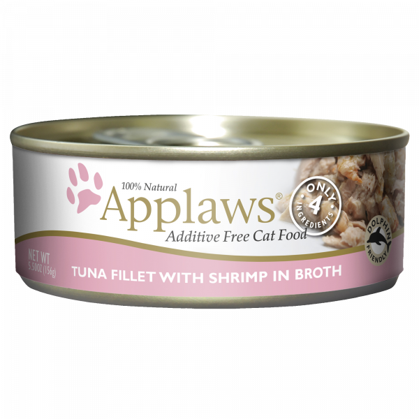 Applaws Tuna Fillet With Shrimp 5.5 oz Cat Wet