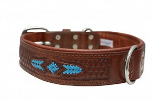 Angel Elite Leather Collar - Sierra