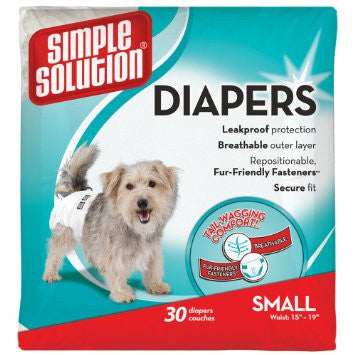 Simple Solution 30pk Diapers
