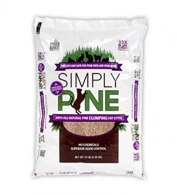 Simply Pine Clumping Cat Litter