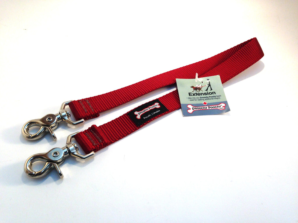 Smoochy Poochy Leash Extension - Red