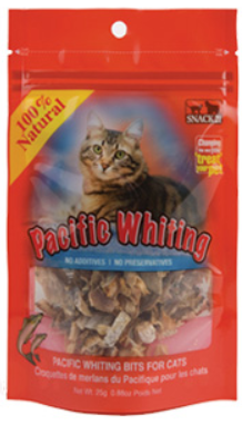 Snack21 Pacific Whiting Strips for Cats