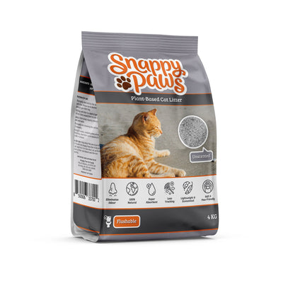 Snappy Paws Plant Based cat litter Flushable