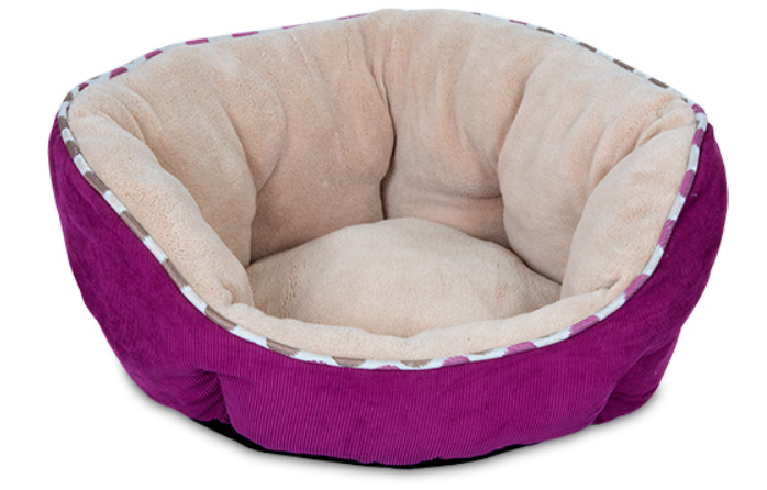 precision - snoozzy fashion clam shell bed - purple corduroy sale