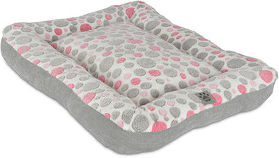 Snoozzy - Bumper Bed Pink/Grey
