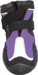 Muttluk Snow Mushers Dog Boots - Purple