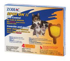 Zodiac Flea & Tick Spot on Treatment For Cats