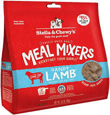 Stella & Chewy Meal Mixers Danny Lamb Freeze Dried Dog Food