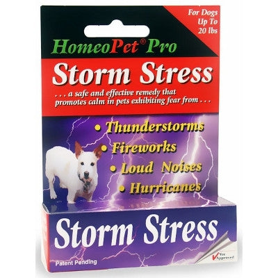 HomeoPet - Storm Stress - Dogs up to 20lbs - SALE