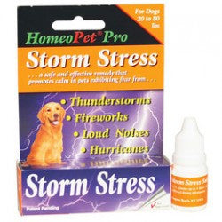 HomeoPet - Storm Stress - For Dogs 20-80lbs