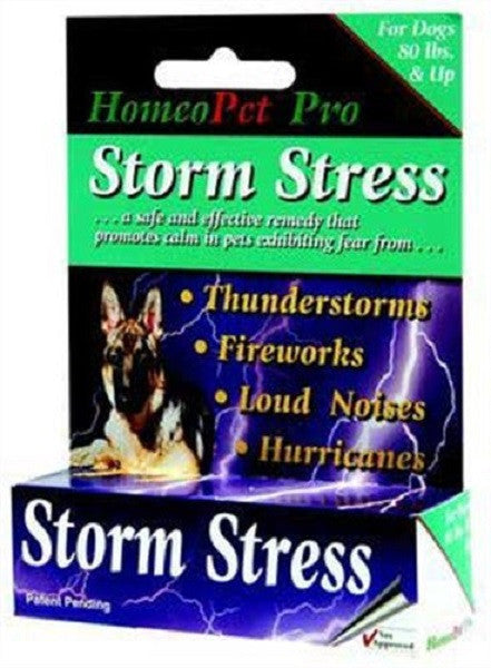 HomeoPet- Storm Stress - For Dogs 80lbs and Up
