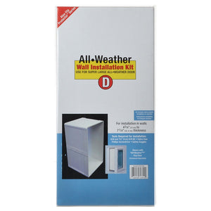 Perfect Pet - All Weather Wall Installation Kit