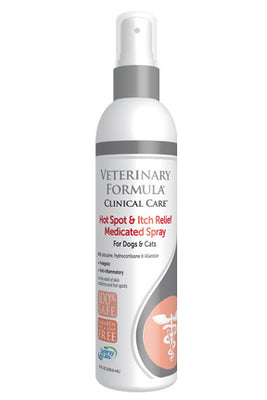 Veterinary Formula - Hot Spot and Itch Relief Spray for Cats & Dogs