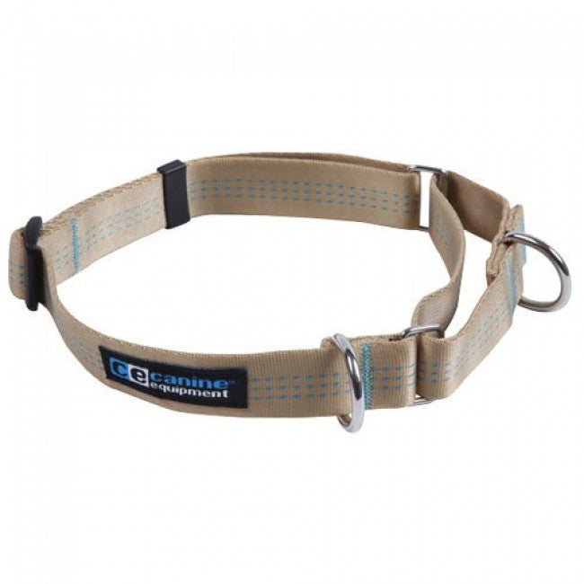Canine Equipment All Web Martingale -Tan