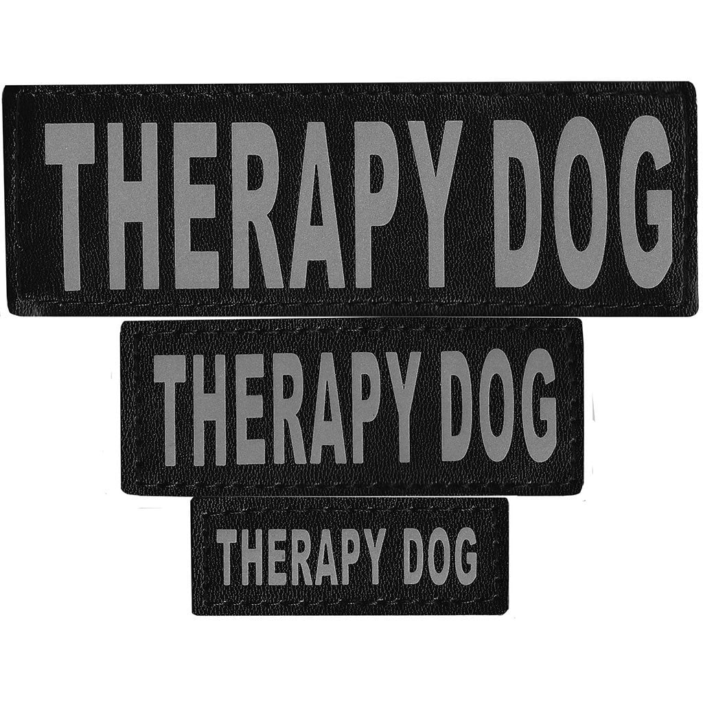 Dogline Removable Velcro Patch - Therapy Dog - S/M