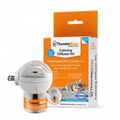 ThunderEase - Calming Diffuser Kit for Cats