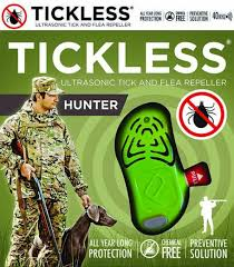 Tickless Hunter Chemical-Free Tick Repeller for Hunters