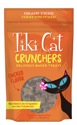 Tiki Cat Crunchers Chicken Flavor
