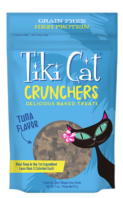 Tiki Cat Crunchers Tuna Flavor 2 oz