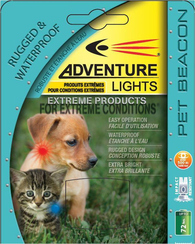 Pet Beacon Adventure Lights for small dogs