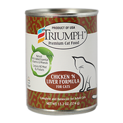 Triumph Chicken 'N Liver Cat Can 13.2 oz
