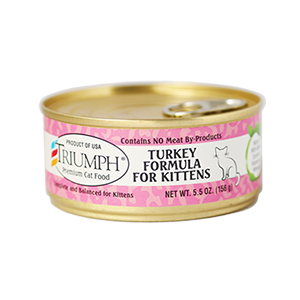 Triumph Turkey Formula For Kittens Cat Can 5.5 oz