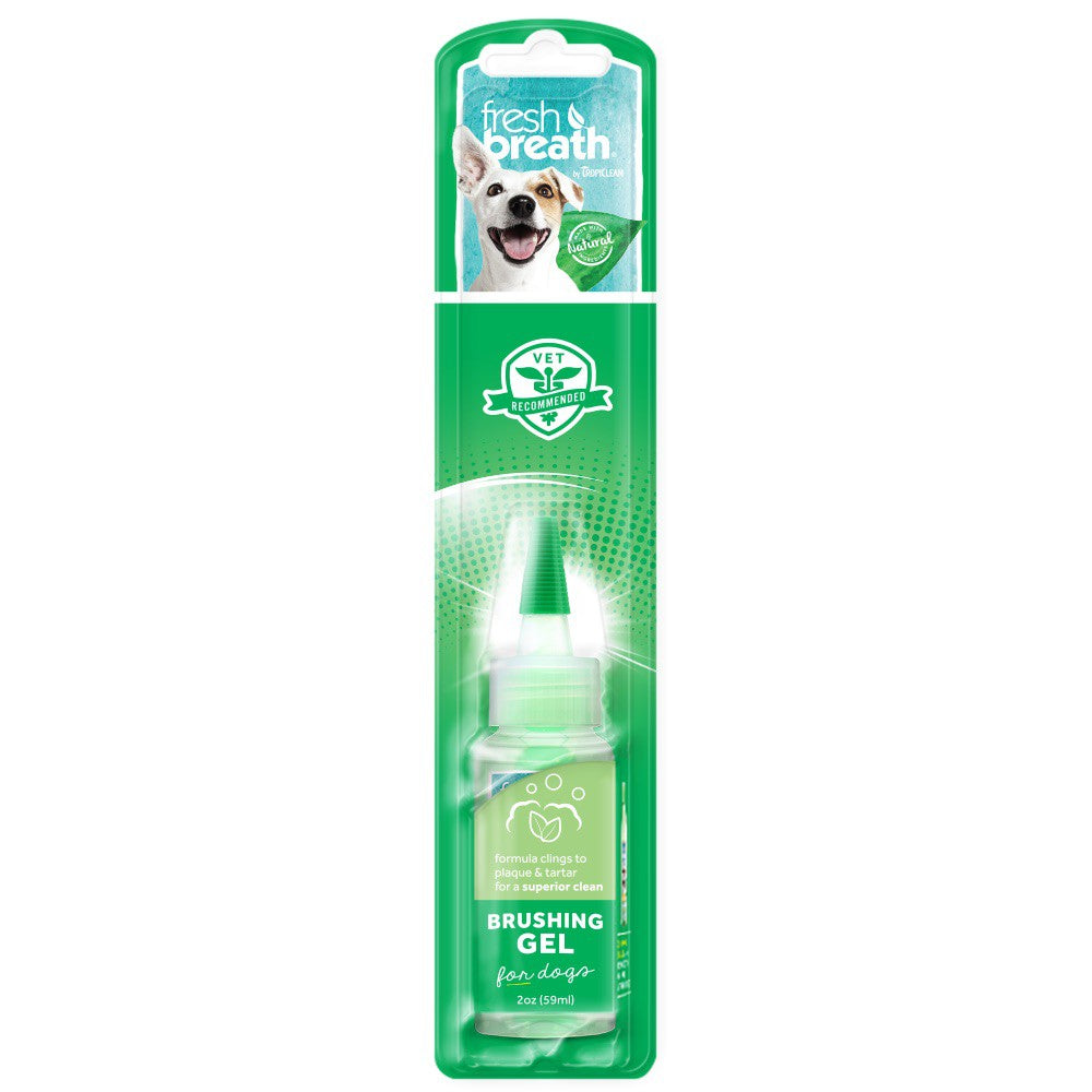 Tropiclean - Fresh Breath - Brushing Gel for Dogs