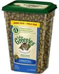 Feline Greenies Dental Treats - 12oz - Tuna